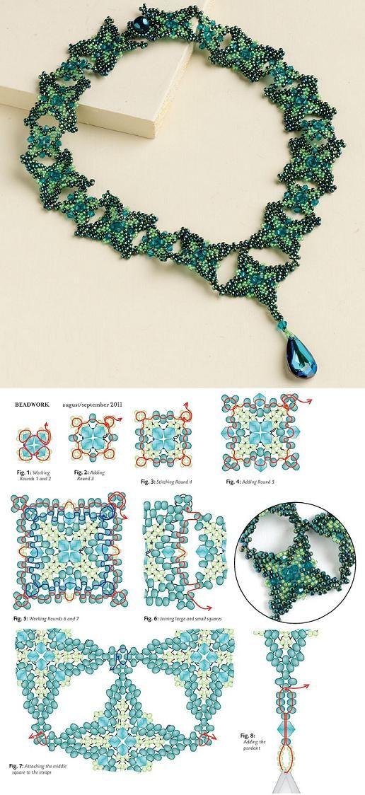 Beaded Renaissance Necklace PATTERN