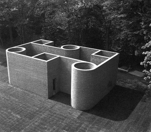 Per Kirkeby - Brick Sculpture, Middelheim, Antwerpen, 1993