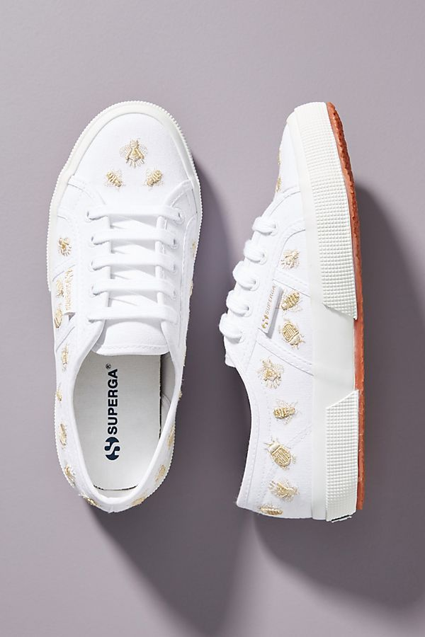 Superga Critter-Embroidered Sneakers