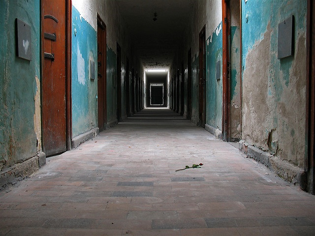 Dachau concentration camp...the most haunting place I have been.