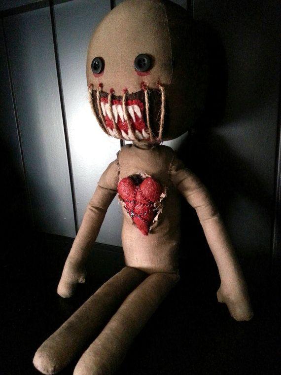 Handmade Voodoo Doll No. 32 on Etsy, $44.99