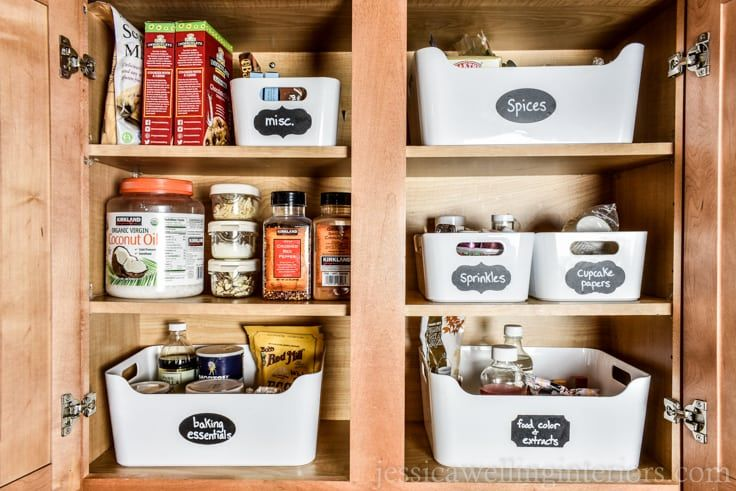 How To Organize Baking Supplies In Your Kitchen Baking Supplies