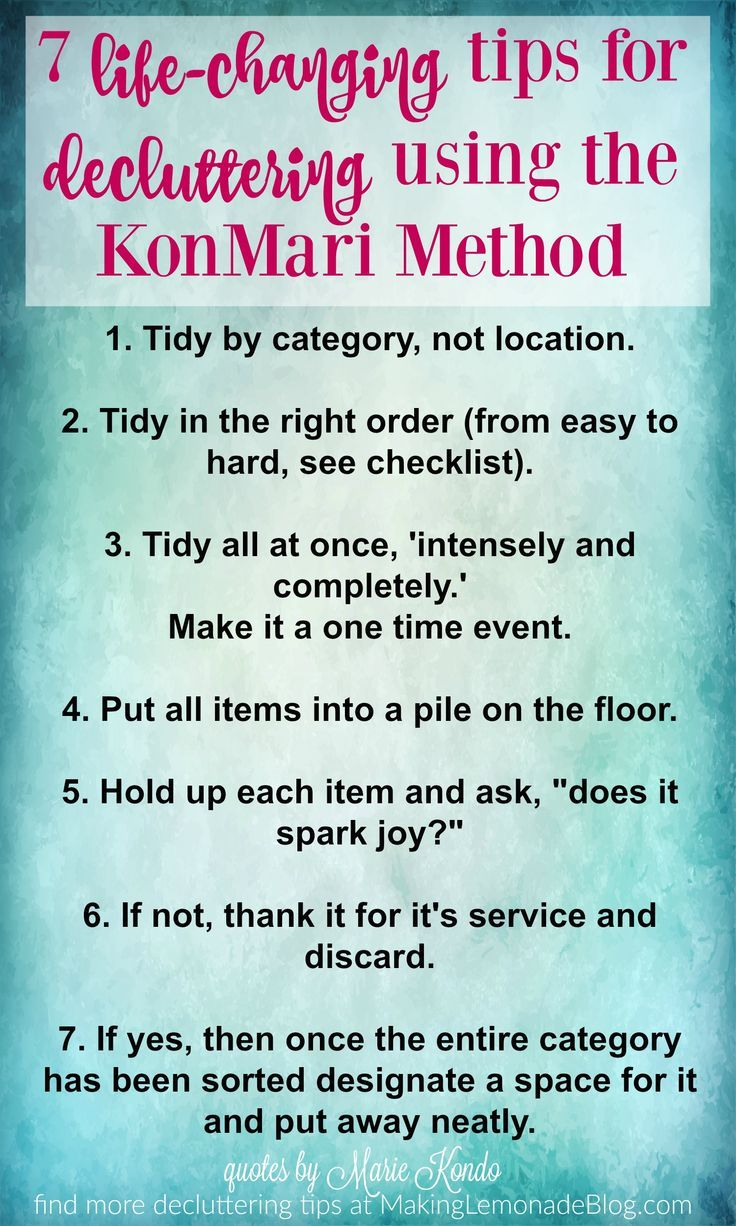 The konmari method will change your entire life here 39 s a for Minimalist living decluttering for joy health and creativity