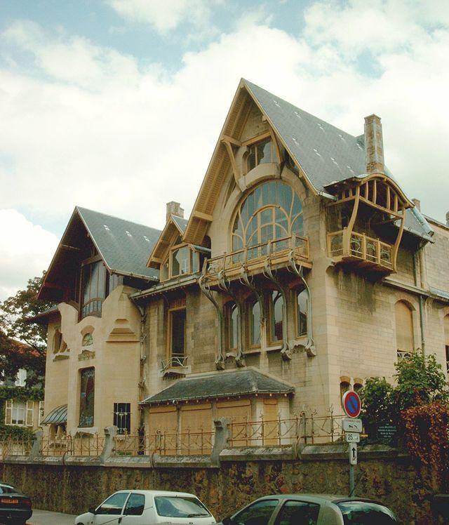 Hector guimard la villa majorelle est une maison de for Artland la maison