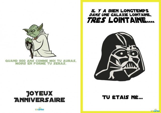 design cartes invitation anniversaire star wars rigolote limoges 3217 limoges meteo france. Black Bedroom Furniture Sets. Home Design Ideas