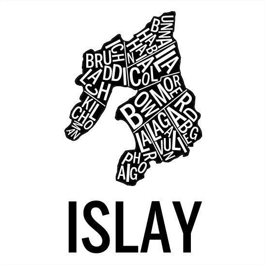 Islay i färgen svart