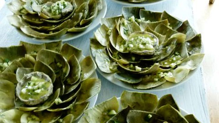 When artichoke season is in swing, this is Cristina Ferrare's favorite way to eat them.