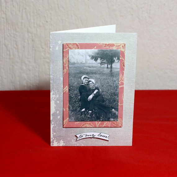 To My Love Sailors Greeting Card by HoneysDead on Etsy