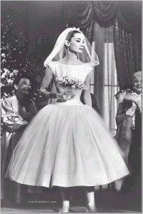 1950s bride. Audrey.: Wedding Dressses, Style, Wedding Dresses, Wedding Ideas, Weddings, Audrey Hepburn, Audreyhepburn, Funny Faces
