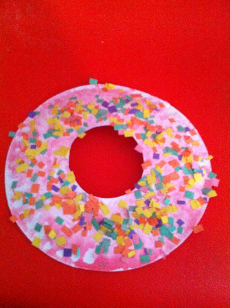 If you give a dog a donut. Art activity.