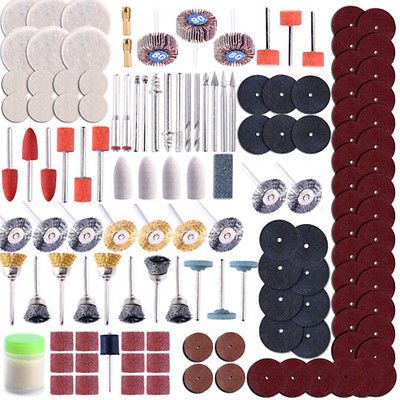 350PCS/Set Rotary Tool Accessory For Universal Sanding Grinding Polishing Kit | eBay
