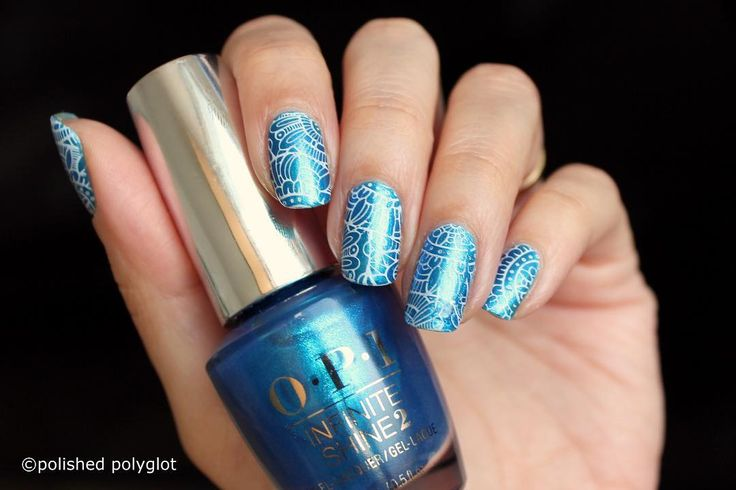 Sooooo ready for the Summer! http://buff.ly/2lyeY3b This is OPI Do You sea what I sea with a bit of stamping for the #26greatnailartideas #crumpetsnailtarts #challenge  Click the link in bio to find out how to do this design yourself!  #nailpolish #swissbeautyblogger #swissblogger #blogsuisse #blogbeautesuisse #nailsofinstagram #nailstagram #nailswag #nailaddict #nailblogger #naildesign #nailspiration #nails2inspire #nailart #blue #floral #stamping #Summer #OPIFiji