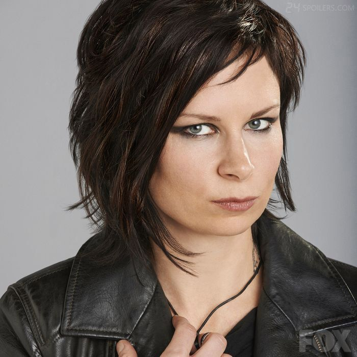 Mary Lynn Rajskub returns as Jack's confidante, Chloe O'Brian in 24: Live Another Day - love her hair!