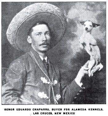1920 Senor Eduardo Chaparro Las Cruces New Mexico