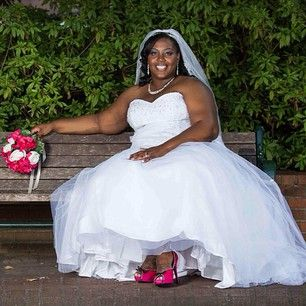 Simple  Curvy Brides Who Nailed The Wedding Dress Game