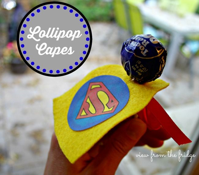 17 beste afbeeldingen over super helden feest super hero for Superhero lollipop cape template