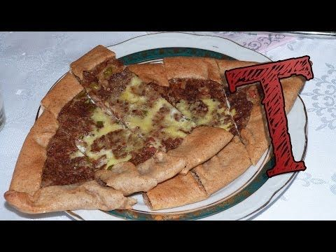 Turkish Pide With Meat | Kiymali Pide Recipe | Traditional Food - YouTube