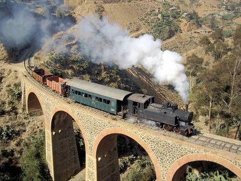 Die stählerne Schlange Eritreas - eine spektakuläre Eisenbahnstrecke in Ostafrika