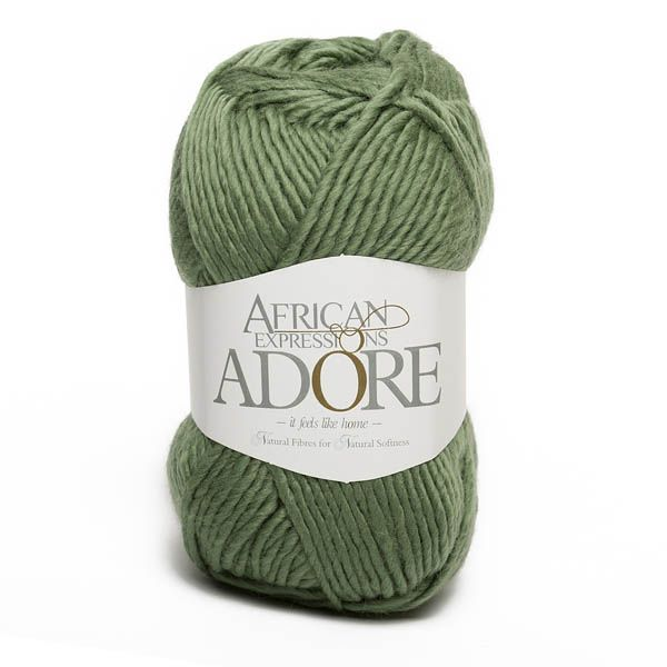 Colour Adore Green tea, Chunky weight,  African expressions 8298, knitting yarn, knitting wool, crochet yarn, kid mohair yarn, merino wool, natural fibres yarn.
