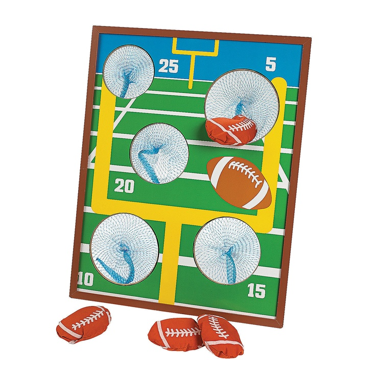 34 best sports birthday favors decoration images on for Bag decoration games