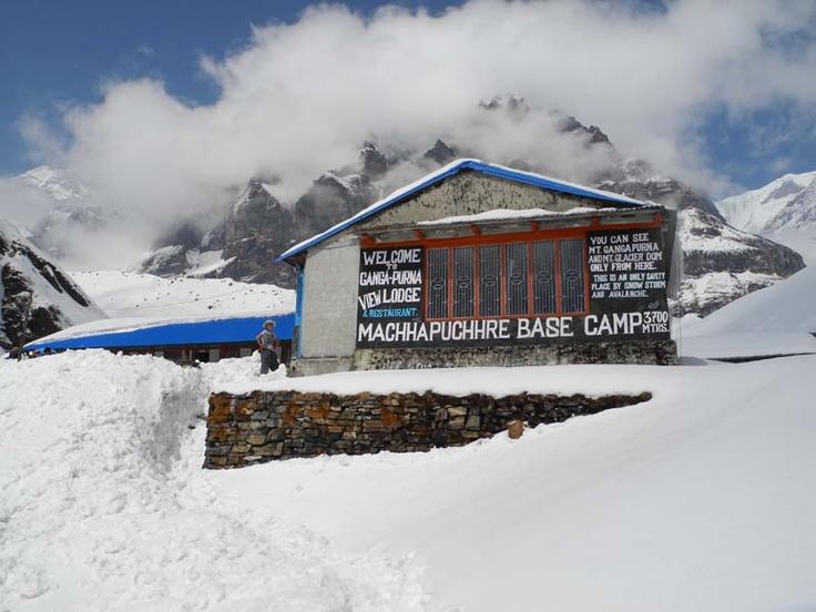 Ganga Purna View Lodge Snow