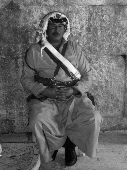 Jordan - Desert soldier in Jerash