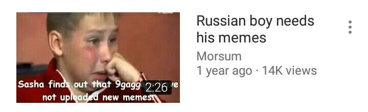 """We are all the """"Russian boy"""""""