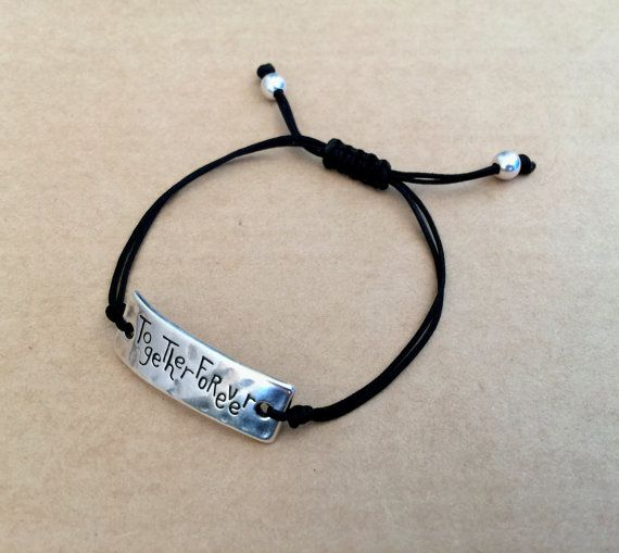 Unisex Together Forever Silver Plated Promise by IzouBijoux