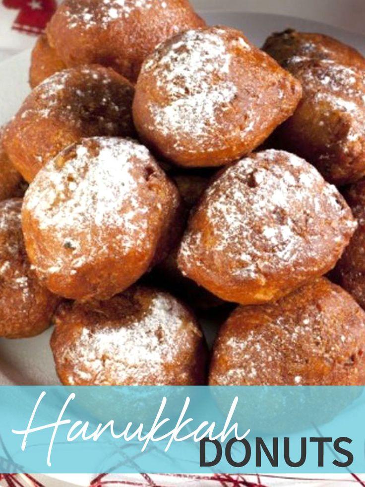 Jewish Hanukkah Doughnuts Recipe — Dishmaps
