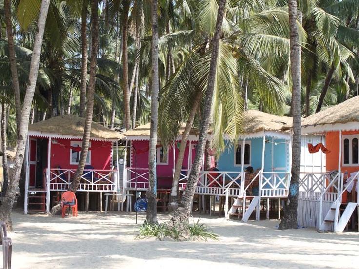 Cuba Huts @ Palolem, South Goa, India