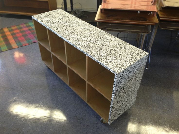 Cover Your Classroom Furniture With Vinyl. Cheap