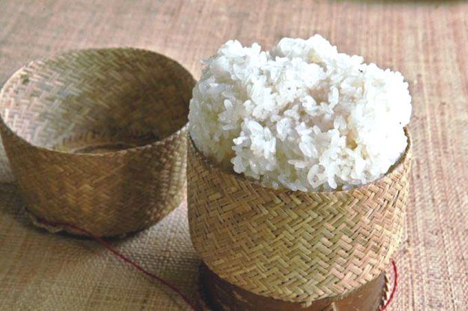 La Recette Facile du Riz Gluant sans Rice-Cooker.