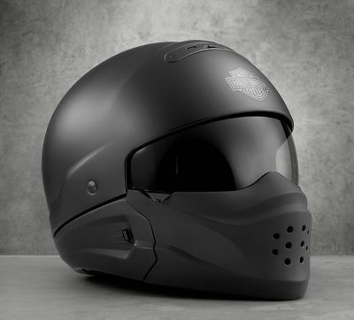Pilot 3-in-1 X04 Helmet. 3 Helmets in one? You've gotta see it  to believe it!  Visit us at St. Croix Harley Davidson 2060 Hwy 65 New Richmond, WI 715-246-2959 www.stcroixhd.com