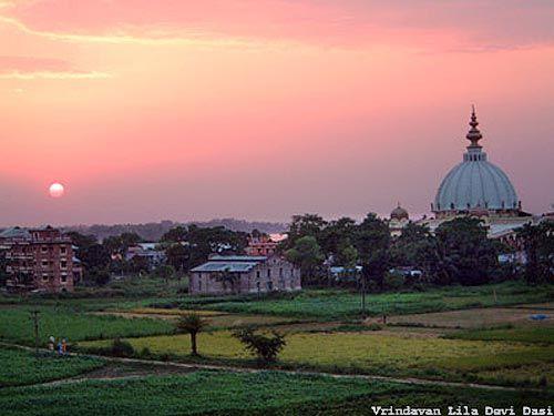 Evening in Mayapur Dham