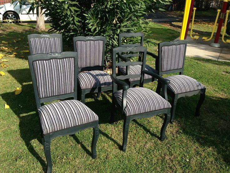 Silla Normando tapizadas completo! Valor de la sillas: 85.000 C/U Colores y tapices a tu elección Numero: + 569 75799591 Correo: mueblesdeco1@gmail.com https://www.facebook.com/Mueblesdecochile1