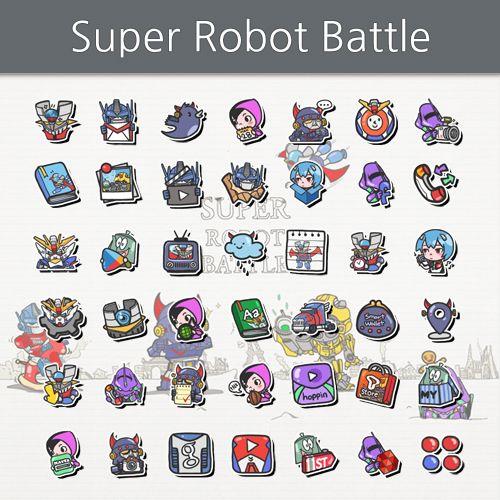 SUPER ROBOT BATTLE