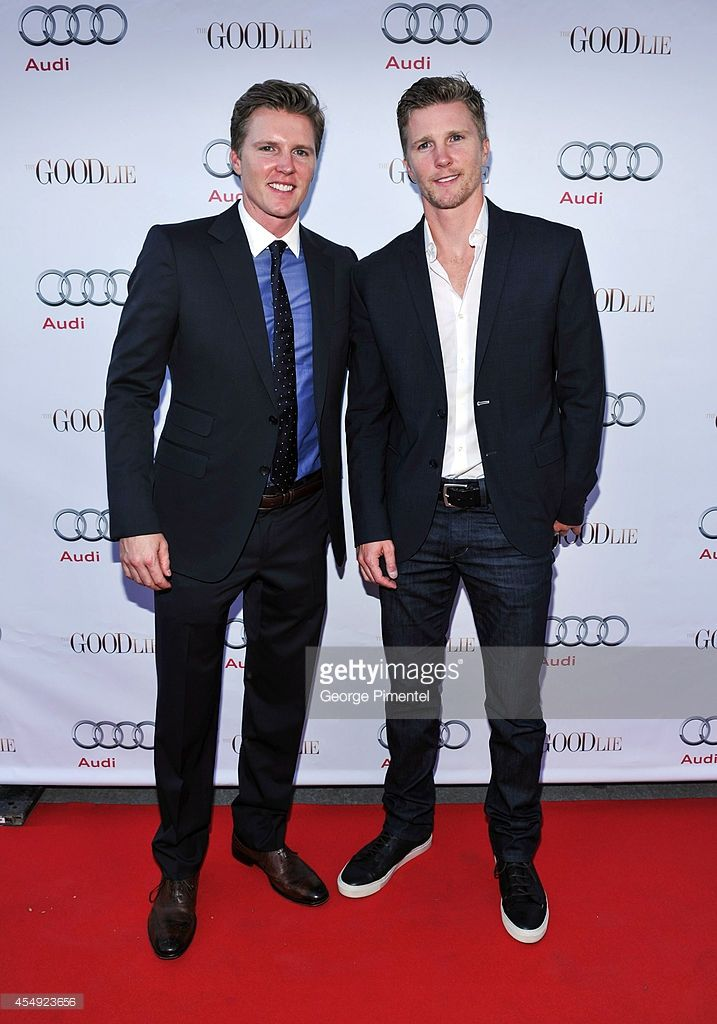 Producers Thad Luckinbill and Trent Luckinbill attends 'The Good Lie' Post-Screening Event Presented By Audi Canada during the 2014 Toronto International Film Festivalat Nota Bene on September 7, 2014 in Toronto, Canada.