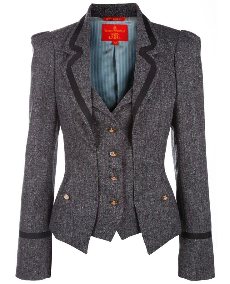 #viviennewestwood #blazer+vest