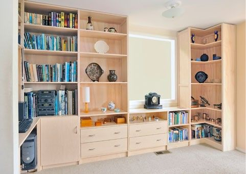 Home Office    Lundia's Static Shelving system is totally custom-made to suit any space, décor, design or storage need.