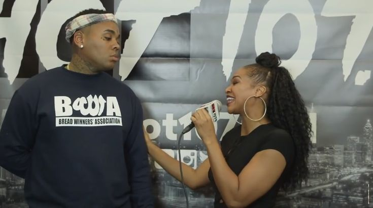 Kevin Gates Gives An Awkward Interview At A Birthday Bash In Atlanta!