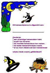 Heksen downloads » Juf Sanne