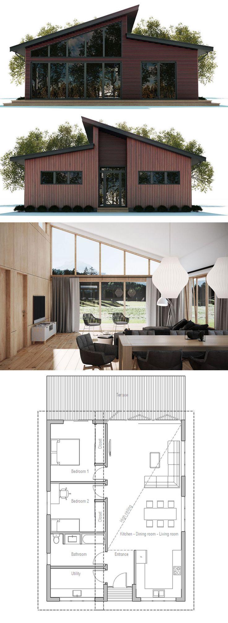 Narrow House Plan