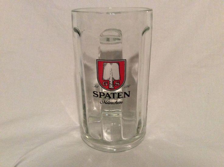 Spaten Beer Munchen Brewery .5 Liter Munich Logo Beer Mug