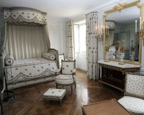 Marie Antoinette's bedroom in the Petit Trianon