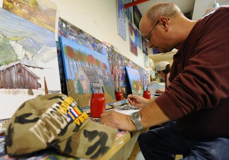 WORCESTER - With the horrors of war come the need for healing, and a local veterans service organization has turned to art as a source of that solace.