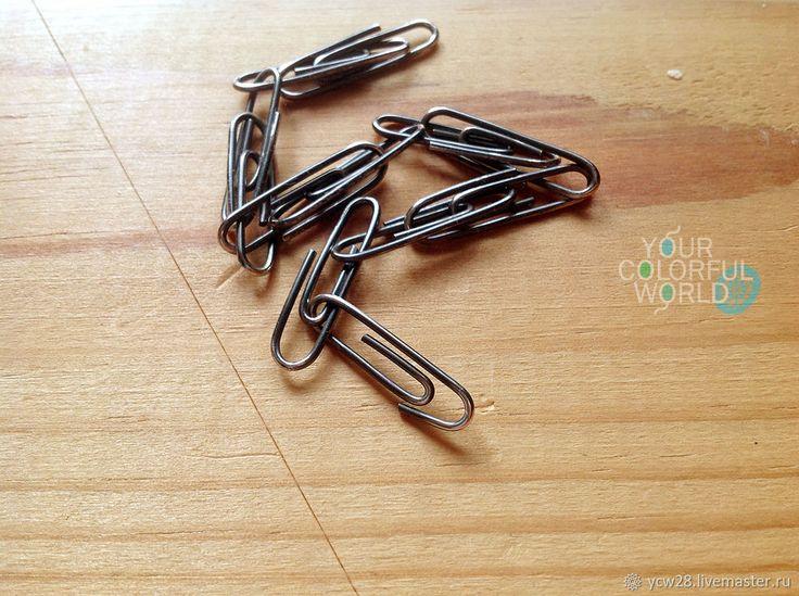 Купить Silver Clips 18 - серебряный, браслет серебряный, серебряный браслет, браслет на руку