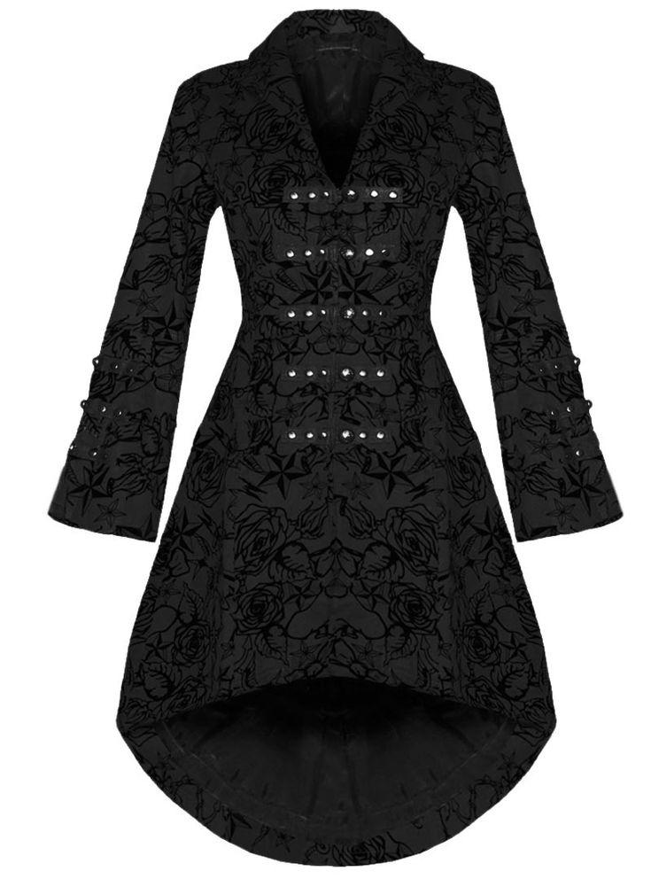 Préférence Les 25 meilleures idées de la catégorie Manteau gothique sur  MA82