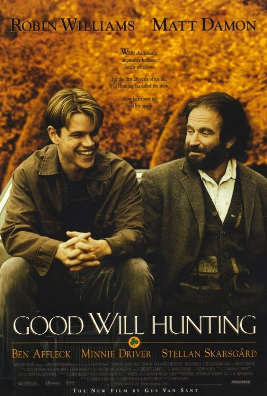 Good Will Hunting(1997)邦題・・グッド・ウィル・ハンティング/旅立ち