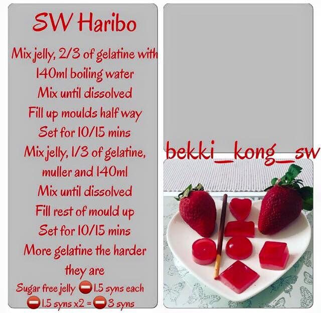 Sw haribo slimming world recipes pinterest Slimming world recipes for 1 person