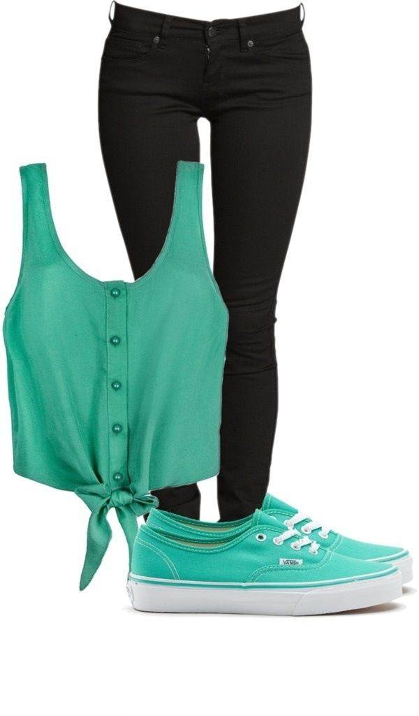 Teal & black for the summer